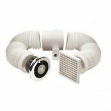 Vent Axia 441423 Lo-Carbon Vent-a-Light In-Line Extractor Fan with LED Light