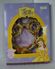 Disney's Beauty & the Beast Belle Dress Up Accessories Gloves Locket Head
