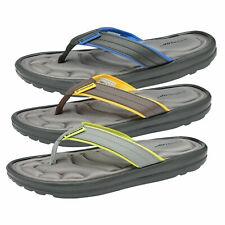 Dunlop Mens Memory Foam Beach Summer Thong Toe Post Flip Flops Pool Sandals
