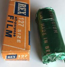 REX 127 camera film -  sealed, expired 1964 - made in belgium