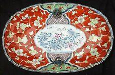 *Petit plat oval porcelaine - IMARi japon -MEIJI- XIX° Japanese Porcelain Meiji