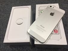 IN BOX Apple iPhone 5s - 16GB - Silver (Factory Unlocked) Smartphone  A+ cond