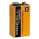 CASE 12 NEW DURACELL PROCELL 9V 9 VOLT Alkaline Batteries EXP in 2021 !!