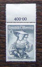 Austria 1948 Provincial Costumes 10s Grey MNH