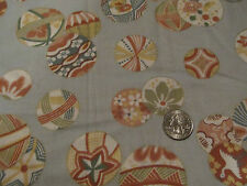Geisha Kimono Asian Splendor 1 yd fabric Japan floral