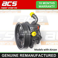 FORD FOCUS POWER STEERING PUMP 1.4 PETROL With A/C 1998 TO 2005 - RECONDITIONED