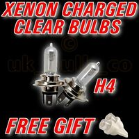 Clear Xenon Bulbs H4 + LED LAND ROVER FREELANDER 97-03