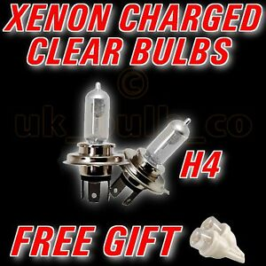 Clear Xenon Bulbs H4(472) + LED FORD RANGER 1999>