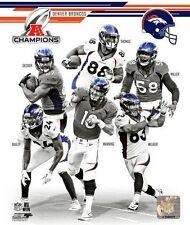 2013 AFC Champs TEAM Denver Broncos Peyton Manning, Demaryius Thomas+ 8x10 photo