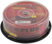 25 Aone Gold Edition Dual Layer DVD+R DL 8X 8.5GB Disc