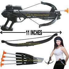 SOFT DART GUN CROSSBOW TOY SET CROSS BOW 4 ARROW - BEST FUN FOR KIDS!