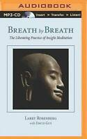 Breath by Breath: The Liberating Practice of Insight Meditation MP3 CD