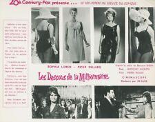SOPHIA LOREN PETER SELLERS THE MILLIONAIRESS 1960 PHOTO ORIGINAL #118