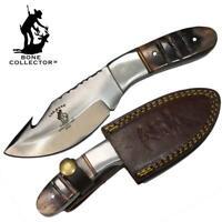 "BC 850 7.25"" Bovine Bone Collector Gut-Hook Skinner Knife Hunting Leather Sheath"