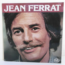 """33 RPM Jean Ferrat Vinyl LP 12 """" Eh LOVE - Ma Kid - Mpf 02613355 F Reduced"""