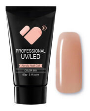 AG019 linea Nude Rosa VB chiodo Acrilico Builder Gel 60g-UV/LED Gel Professionale