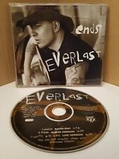 EVERLAST ENDS CD SINGLE 90s US CHART HIP HOP BLUES EX HOUSE OF PAIN VOCALIST