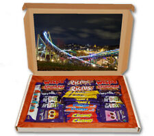 Rollercoaster Fun Fair 24 Bar Cadbury Chocolate Hamper Personalised Gift Box