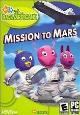 Backyardigans: Mission to Mars PC CD ROM Software Video Game 2006
