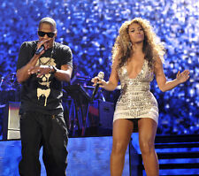 Jay-Z and Beyonce UNSIGNED photo - G544 - SEXY!!!!!