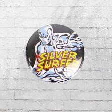 Logoshirt Button Comic Anstecker Silver Surfer Marvel Anstecknadel Pin