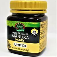 NEW, FRESH MANUKA HONEY 10+ UMF  8.8oz (250g) by Mother Earth NEW ZEALAND