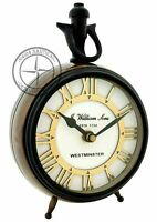 Westminster Antique Brass Maritime Table Clock Nautical Office Desk Decor