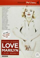 Love Marilyn I diari segreti DVD + libro	garbus Feltrinelli	cinema monroe nuovo