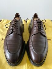 Genuine John Lobb Mens brown leather shoes robber sole UK 8.