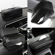 Car Sun Visor Tissue Box Holder Paper Napkin Tissue Storage Auto Accessories HOT