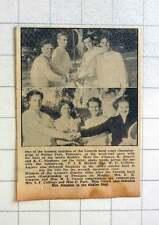 1957 cornish Hardcourt Championships Penlee Park Penzance, Angove Stevens,