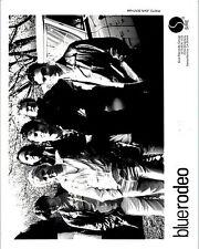 RARE Original Press Photo of Blue Rodeo a Canadian Country Rock Band