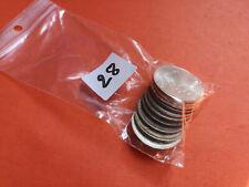 Lot 10 pièces argent 50 Francs Hercule année diverses Lot n° 28