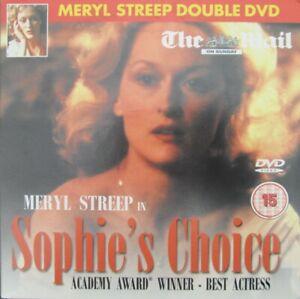 SOPHIES CHOICE DVD MERYL STREEP KEVIN KLINE PETER MACNICOL
