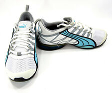 Puma Shoes Voltaic 2 White/Angel Blue/Dark Shadow Sneakers Womens 6