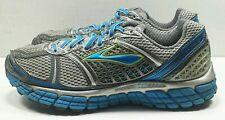 👀💲✨✔️EUC sz 9 Brooks Mogo DNA Trance-12 Blu Silver Metallic/Grey Running Shoe