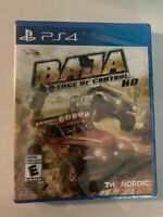 Baja: Edge of Control HD PS4 (Sony PlayStation 4, 2017) Brand New Factory Sealed
