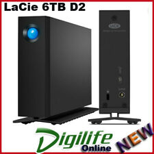 LaCie D2 Professional 6000gb Black External Hard Drive