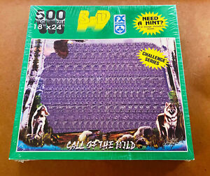 FX SCHMID -- Call of the Wild Hidden Challenge Series -- 500 Pc Puzzle -- SEALED