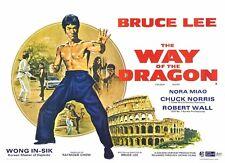 Bruce Lee Poster Length: 800 mm Height: 500 mm SKU: 3111