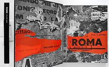 Rome Fotografie di William Klein Feltrinelli 1959 1 edizione Raro