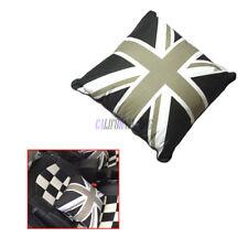 Car Seat Pillow NeckRest Pad Black Union Jack For MINI ONE COOPER COUNTRYMAN
