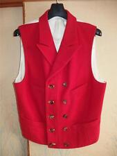 07 COMME des GARCONS HOMME PLUS WOOL DOUBLE BREASTED TAILORED VEST GILET MEN'S M