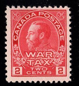 MR2a WAR TAX Canada mint never hinged
