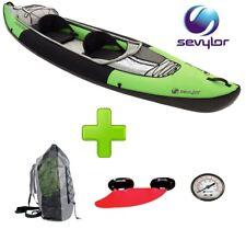 Canoa Kayac Yukon 2 posti SEVYLOR Inclusa con Borsa trasporto incluse 2 Pagaie