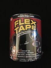 Flex Tape TFSBLKR0405 Rubberized Waterproof Tape 4 inch x 5 ft. Black
