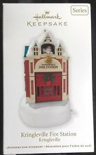 NIB 2012 HALLMARK ORNAMENT KRINGLEVILLE FIRE STATION THIRD IN THE SERIES