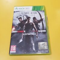 Ultimate Action Triple Pack (3 Giochi) XBOX 360 Just Cause 2, Tomb Raider ecc.