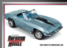 1967 Corvette Roadster Elkhart Blue 1:18 Auto World 952