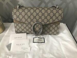 Gucci Dionysus Small GG shoulder bag Beige/Ebony